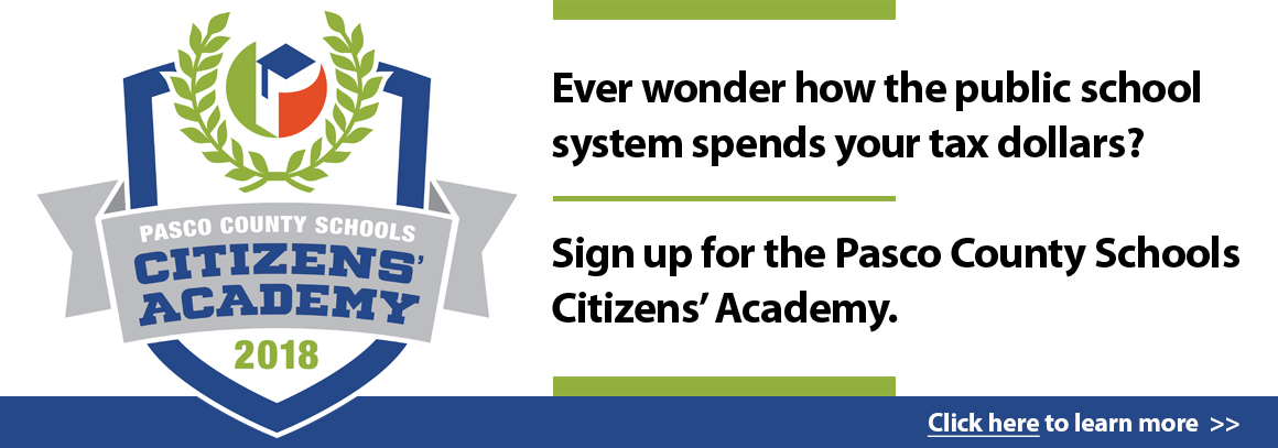 <p> Ever wonder how the public school system spends your tax dollars? Sign up for our Citizens&#39; Academy. Tap to learn more.</p>