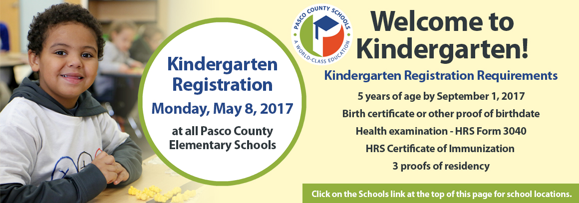 <p> Kindergarten pre-registration is scheduled for May 8, at all district elementary schools. Tap for more info.</p>