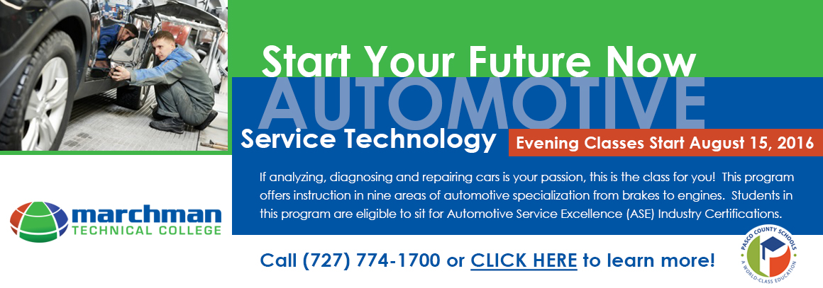 <p> 	MTC Announces the&nbsp;Automotive Service Technology&nbsp;Evening Program</p>