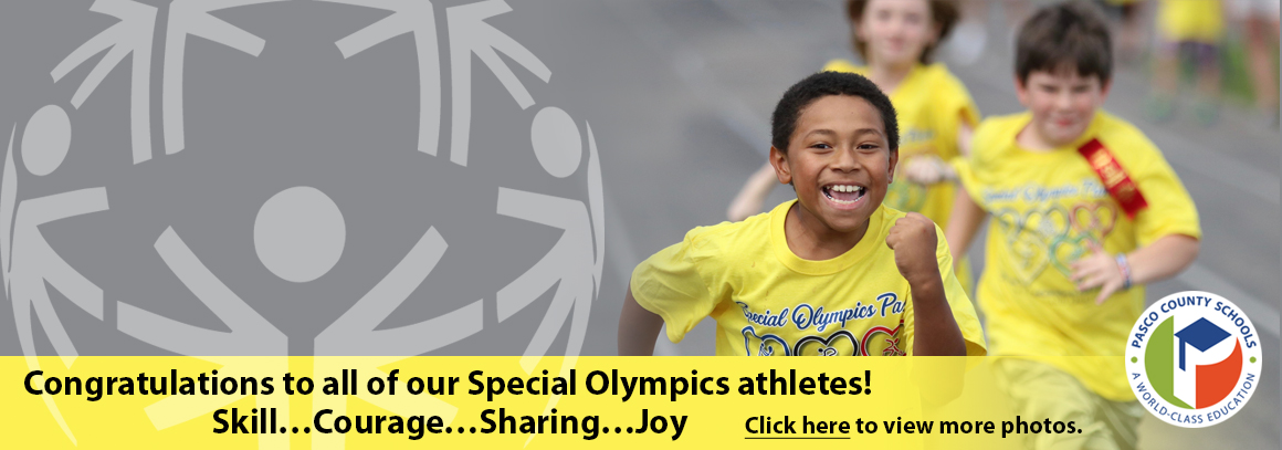 <p> 	Special Olympics - Tap for photos!</p>