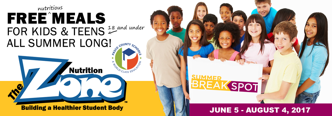 <p> 	Free Meals for kids 18 and under all summer! &nbsp;June 5 - August 4. &nbsp;Tap for more info...</p>