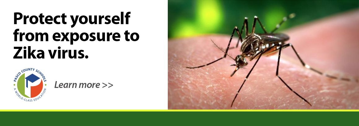 <p> 	Tap to visit our health page with info on the Zika virus.</p>