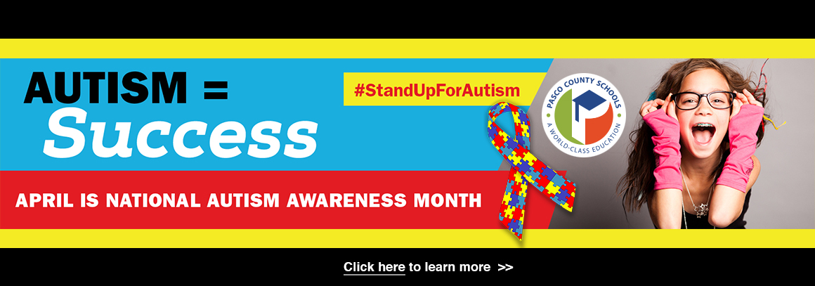 <p> 	April is National Autism Awareness Month - Tap for more info!</p>