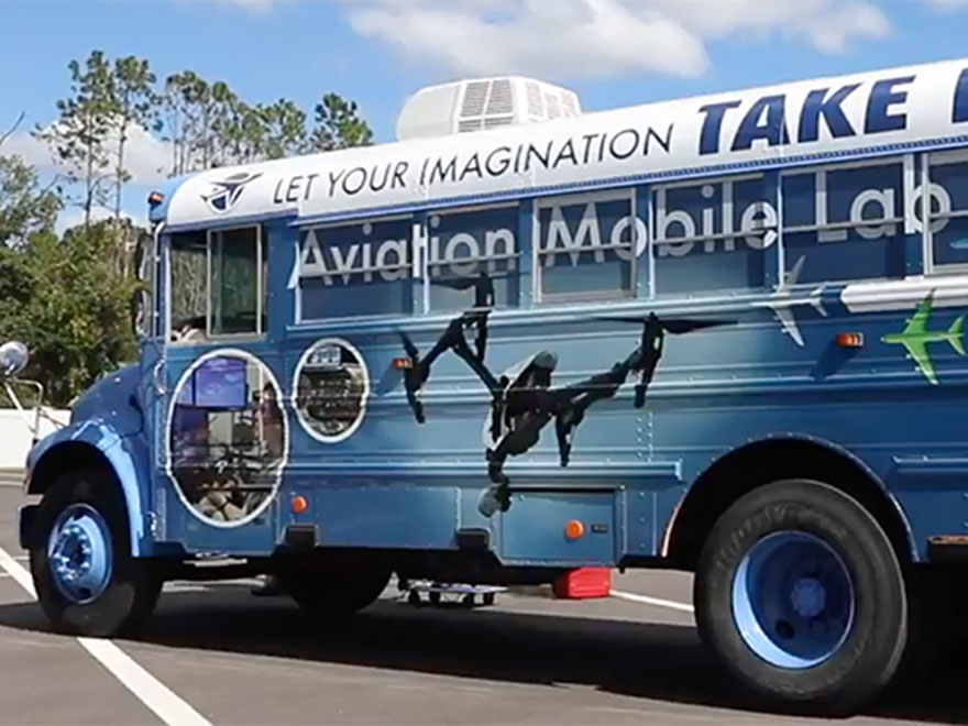 <p> 	Learn about our new Aviation Mobile Lab bus!</p>