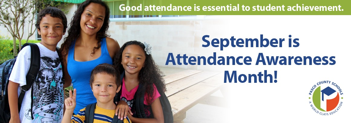 <p> 	September is Attendance Awareness Month</p>