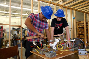image link showing students, links to students page