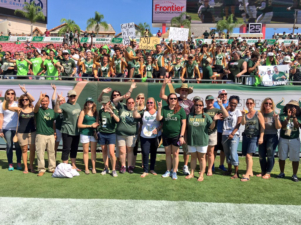 Extra Yard for Teachers honored 10 Pasco teachers, and with 20 from  Hillsborough and Pinellas, at the FSU vs USF game.