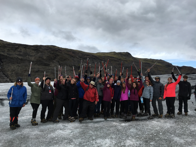Iceland class trip