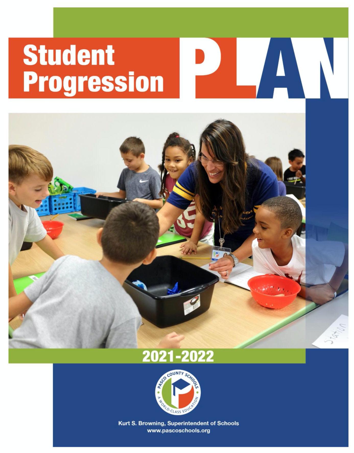 Student Progression Plan 2021-2022