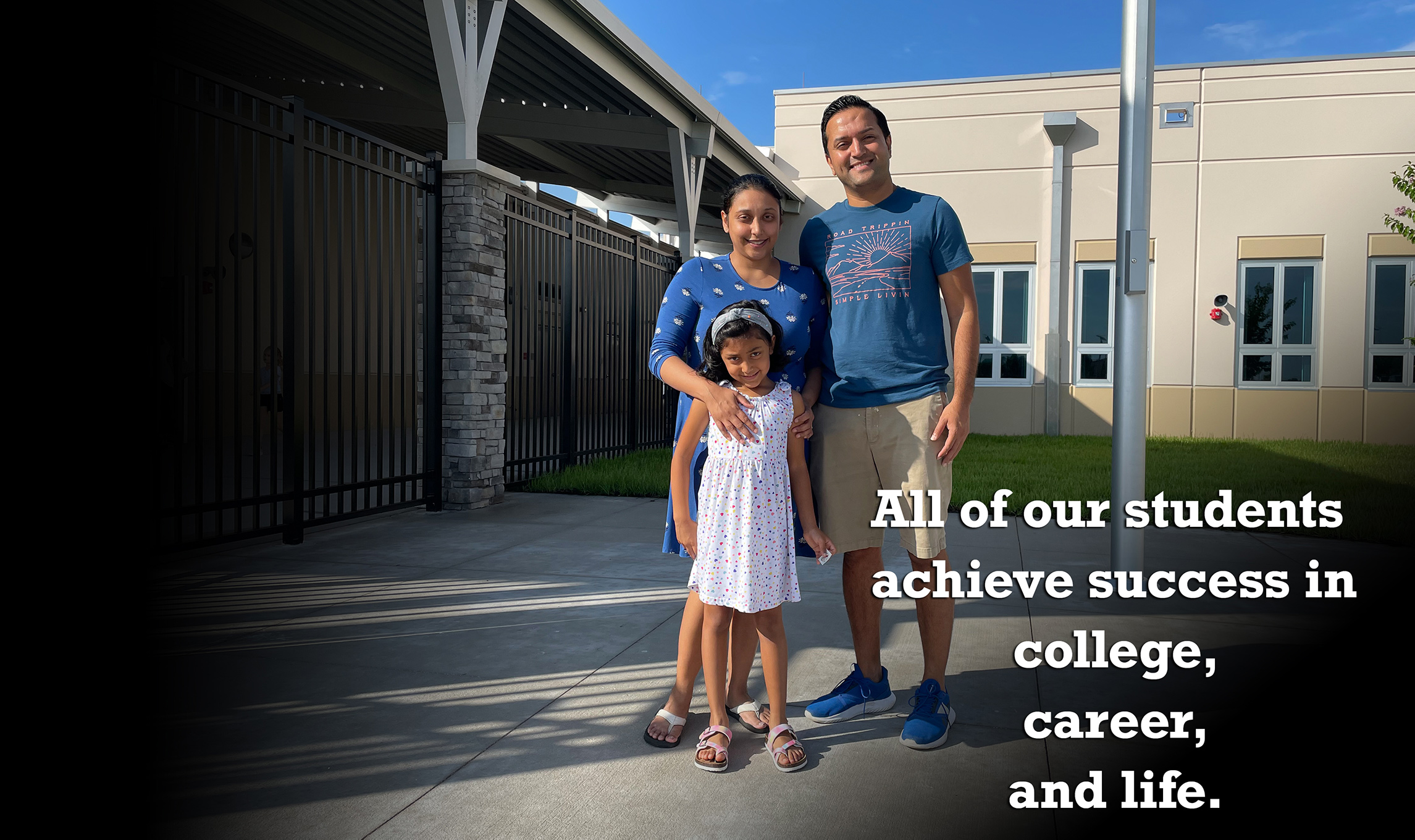 All of our students achieve success in college, career, and life.